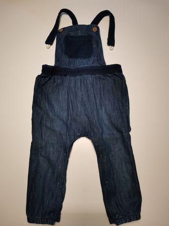 Spodnie-ogrodniczki jeansowe (Next)