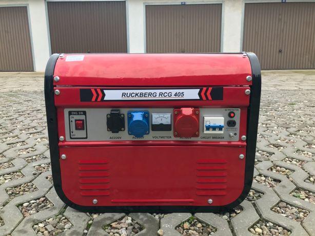 Nowy Niemiecki Agregat Ruckberg RCG 405 6,7KW 230/380/12V  Prostownik