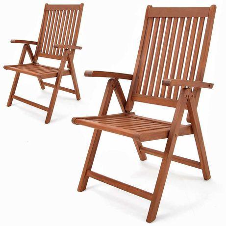 Крісло садове складне/Шезлонг/Стілець складний для відпочинку, дерево.