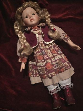 Кукла NJSF фарфоровая, ретро. Германия. 42см.
