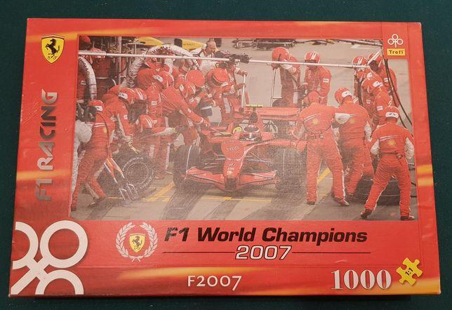 Puzzle 1000 trefl bolid F1