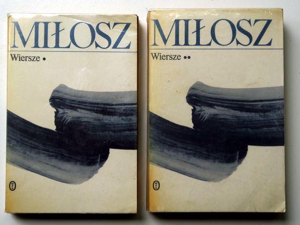 """Czesław Miłosz """"Wiersze"""" Tom 1 i 2"""