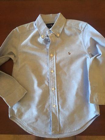 Camisa Ralph Lauren T 5 anos