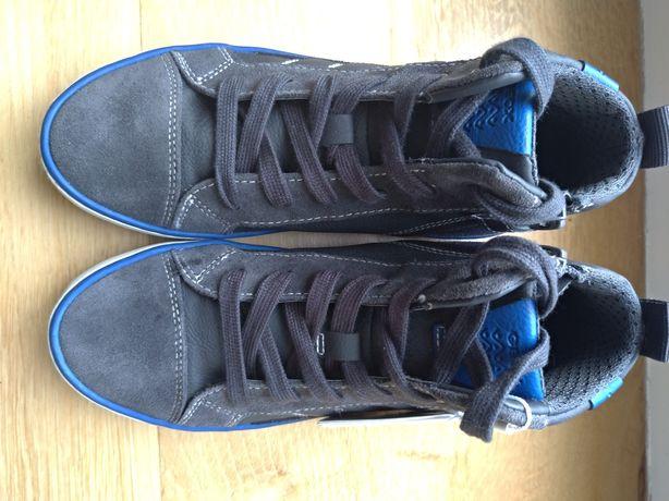 Nowe Geox 33 buty za kostkę wysokie sneakersy/trampki