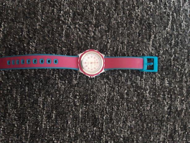 Zegarek fioletowo-niebieski