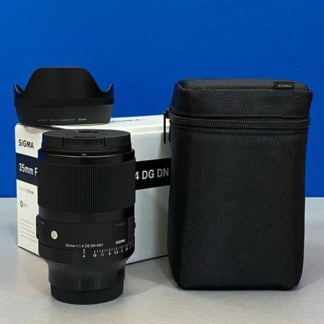 Sigma ART 35mm f/1.4 DG DN (Sony FE) - NOVA - 5 ANOS DE GARANTIA