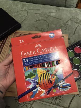 Акварельные цветные карандаши Faber Castell