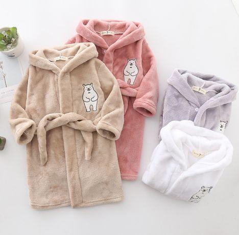 Детский халат для девочек и мальчиков (ПОДАРОК)