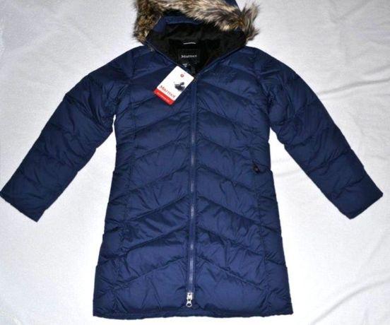 Скидка! Пуховик, пальто пуховое Marmot Montreux coat,Мармот на 6-9 лет