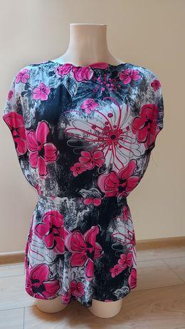 Bluzka odcinana w pasie rozmiar L XL