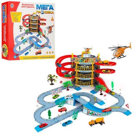 Детский Игровой Гараж-мега Парковка! Детский паркинг с машинами !