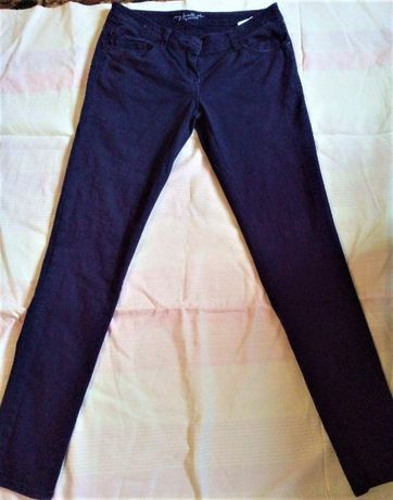 джинсы фиолетовые