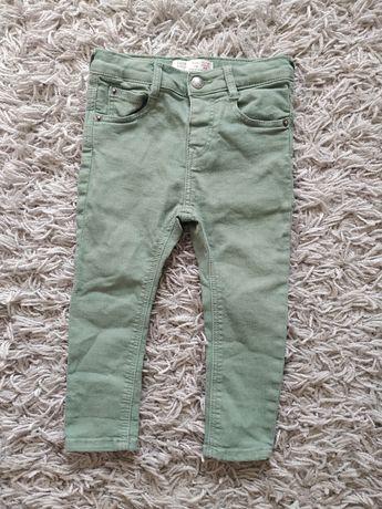 Spodnie jeansowe Zara rozmiar 86