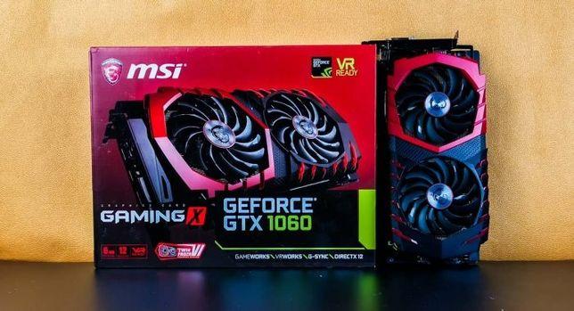 Видеокарта Geforce GTX 1060 6 GB GAMING X