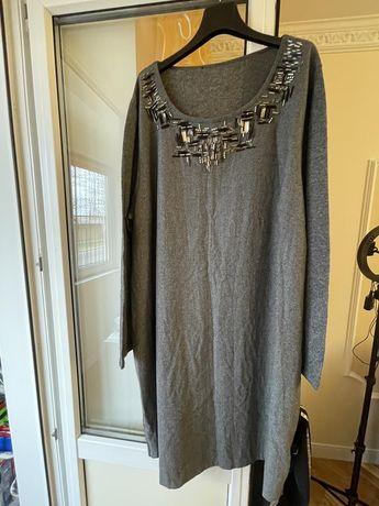 Тёплое платье новое нарядное размер  62,шерсть