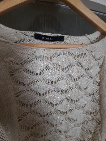 Ażurowy sweterek r. L monnari