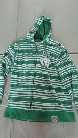 Bluza dresowa z zamkiem