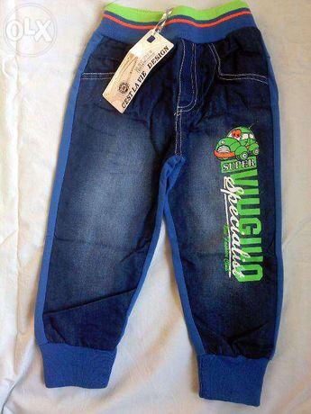 Спортивные комби джинсы-джоггеры. Польша
