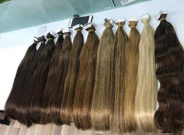 Волосы натуральные до 85 см срезы южно русские