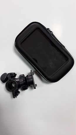 Uchwyt Etui na kierownice telefon nawigacja z mocowaniem skuter motor