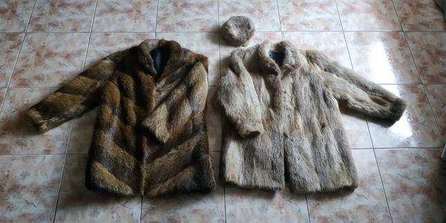 Ładne dwie kurtki z Nutrii