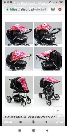 Daszek,parasolka, osłonka na wózek od słońca, deszczu, wiatru