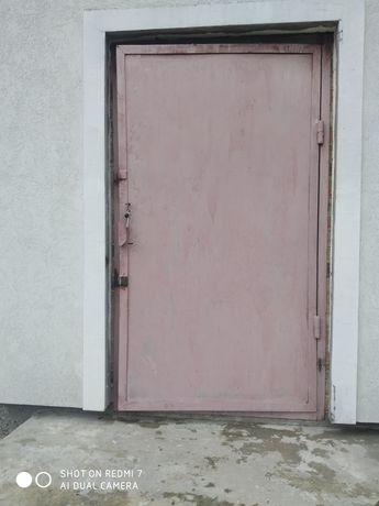 Двері металічні на будову, підвал, кладовку