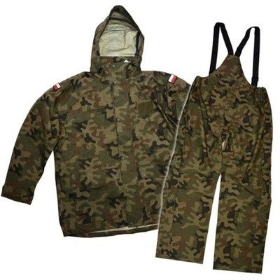 Ubranie wojskowe Ochronne gore - tex 128/MON