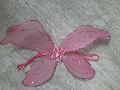 Крылья бабочки, крила метелика, на резинках