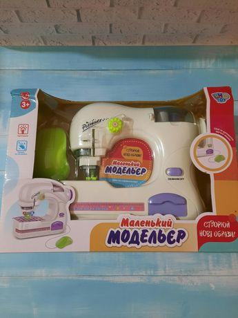 Детская швейная машинка, игрушки для девочки