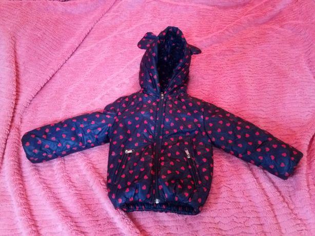 Осіння курточка на дівчинку