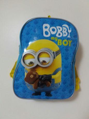 Mochila infantil Minions - Bobby my boy (pequena)