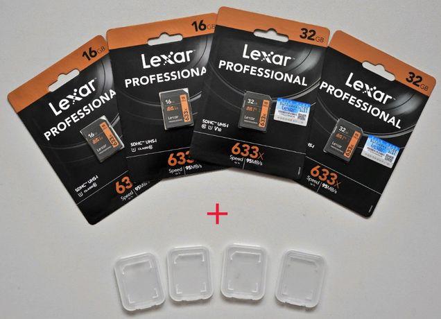 Lexar Professional 633x SDHC UHS-I 16Gb 32Gb