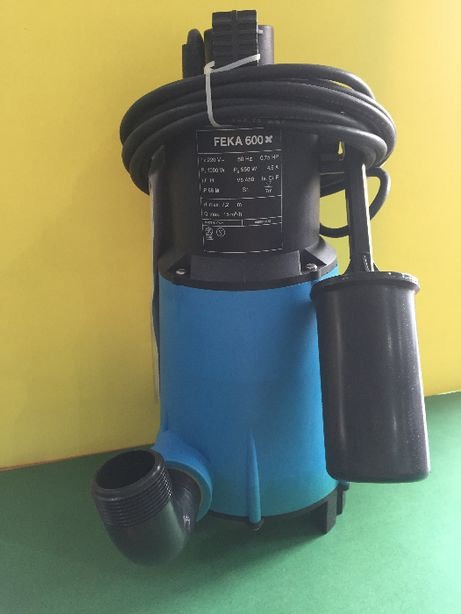Bomba submersivel FEKA 600 automatic