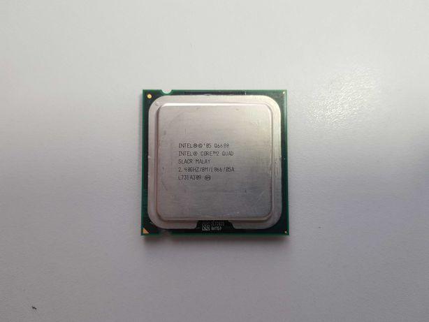 Procesor Intel Core 2 Quad 2.4GHz + płyta główna + chłodzenie