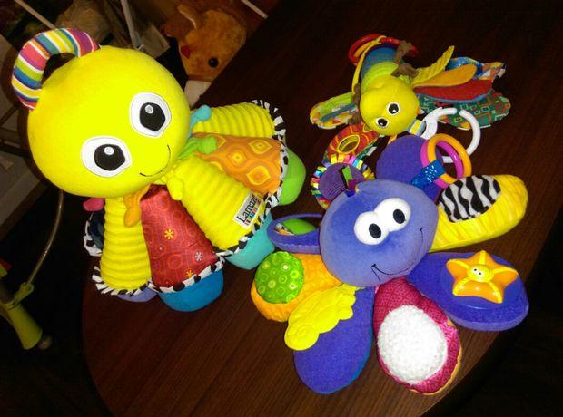 Zabawki Lamaze dwie ośmiornice i motyl