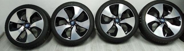 """Koła zimowe BMW i8 20"""" 5x112 Opony 215/45R20 Bridgestone Blizzak LM-32"""