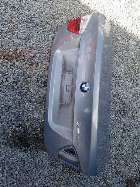 BMW e90 klapa bagażnika tył a34 arktis metallik