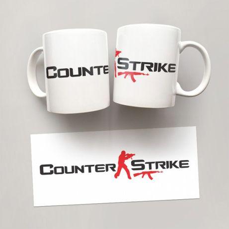Чашка GUS «Counter-Strike», 310 мл, Белая