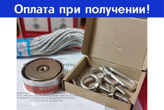 Поискoвый неодимовый магнит F 400, 800, 500, 200, 300, 600, 120, 1000
