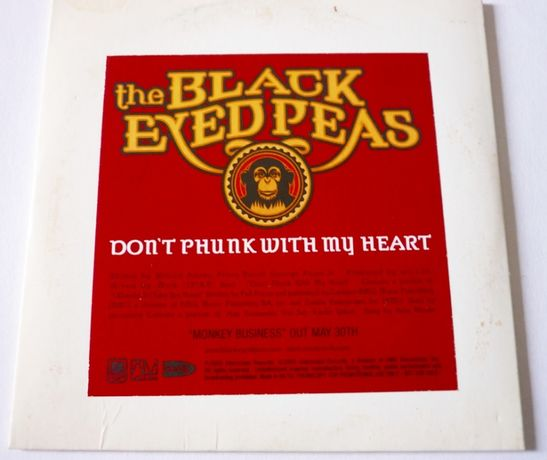 CD «Black Eyed Peas - Dont phunk with my heart»