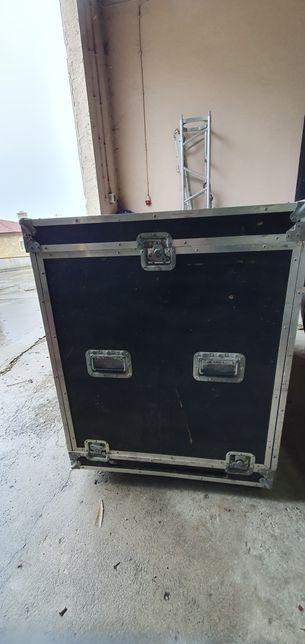 Road Drum Case c/ Rack