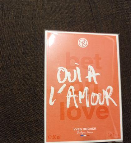 Ив Роше / Yves Rocher Oui a l`Amour  50 ml обмен или продажа