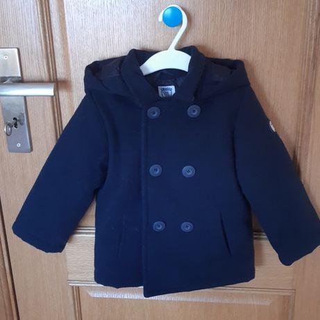 Casaco azul escuro da marca Chicco. Unisexo. 2 anos. Como NOVO