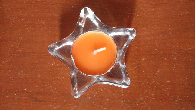 Bases para velas em forma de Estrela