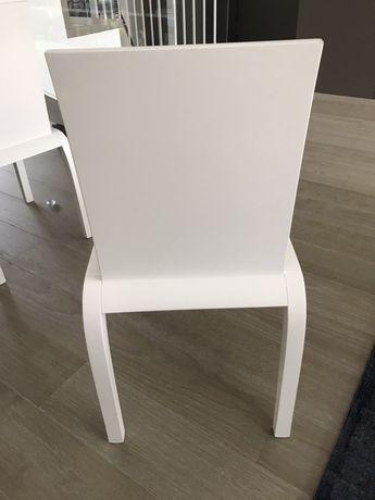 Cadeiras Sala lacadas a Branco - compradas na Opostos