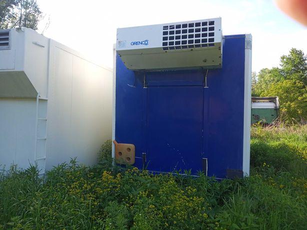будка холодильна з агрегатом TermoKing
