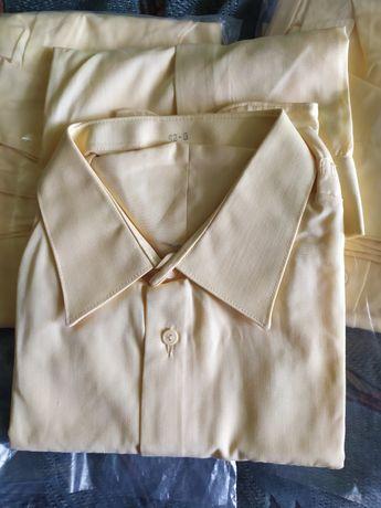 Рубашка жёлтая военная СССР