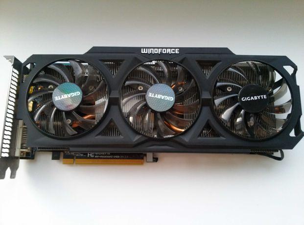Видеокарта Gigabyte Winoforce R9 280X 3 Гб DDR5