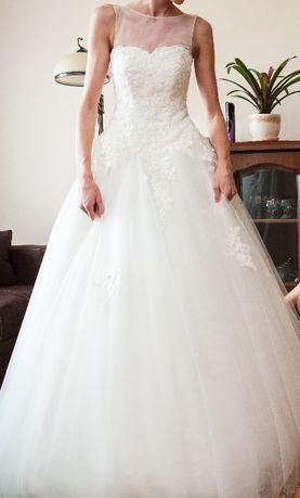 Suknia ślubna Jordana + Bolerko + Welon
